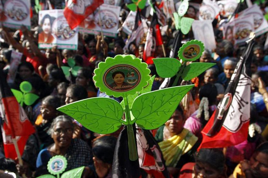 Image result for Without its 'Two Leaves' Symbol, AIADMK Stands to Lose Traditional Vote Bank to AMMK