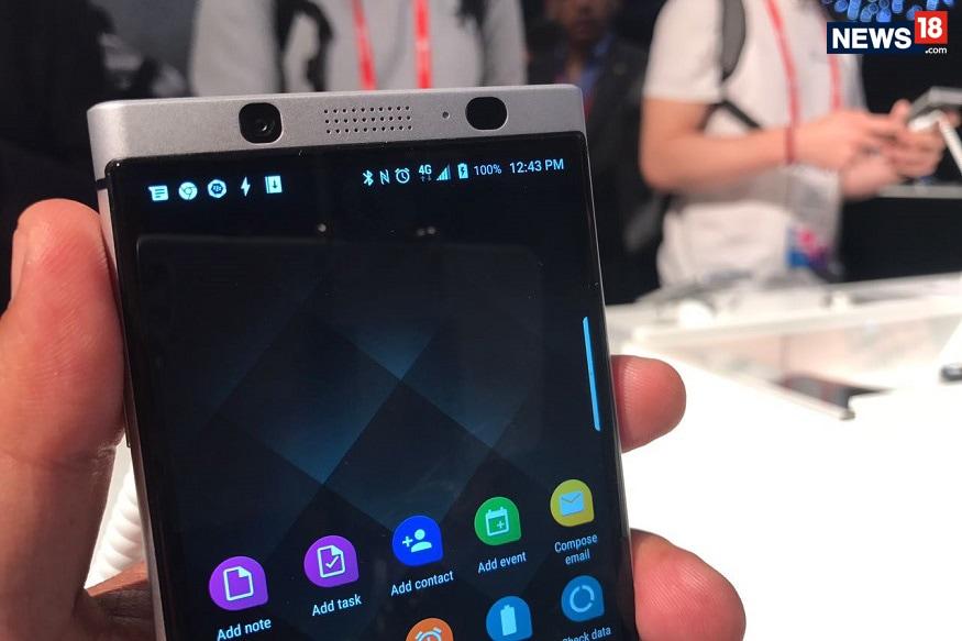 Amazon India Claims Fake Discount on BlackBerry KEYone - News18