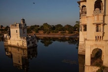 Vandals Break Mirrors at Padmini Palace in Chittorgarh Fort