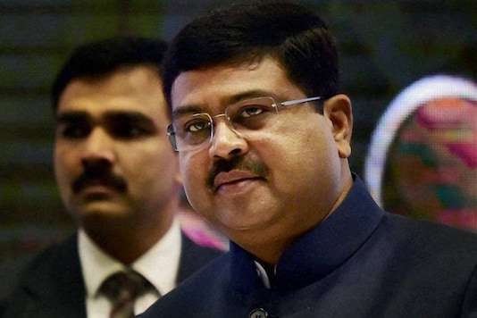 File photo of union oil minister Dharmendra Pradhan.  (Image: PTI)