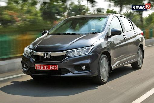 The Honda City (Photo: Siddharth Safaya/News18.com)