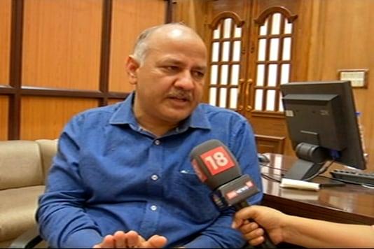 Image of Deputy Chief Minister Manish Sisodia (News18)