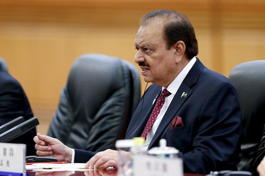 File photo of Pakistan President Mamnoon Hussain. (Reuters)