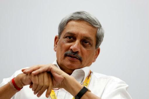 File photo of Manohar Parrikar.