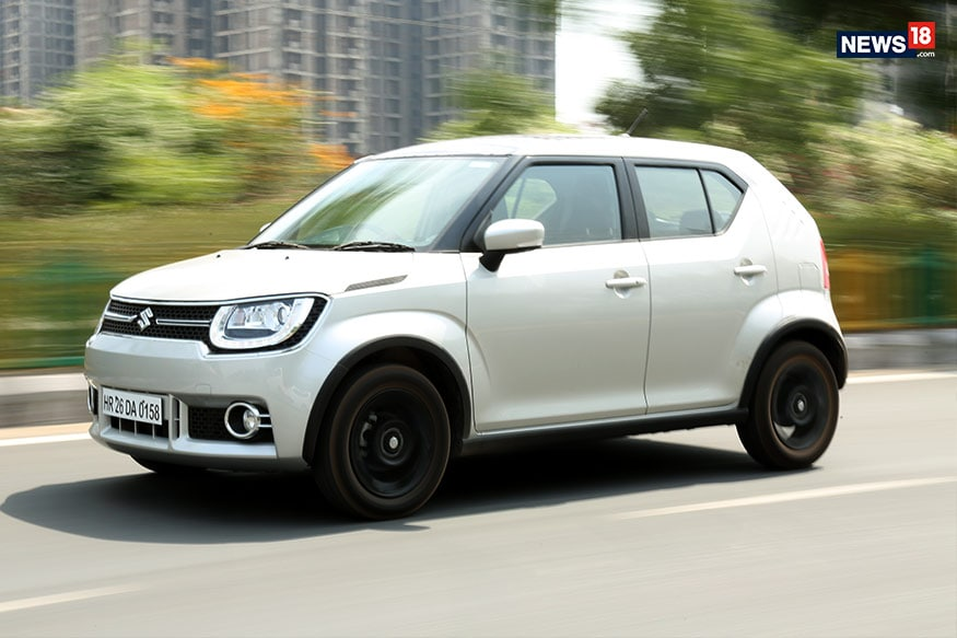 Maruti Suzuki Ignis has a tall boy stance. (Photo: Siddharth Safaya/News18.com)