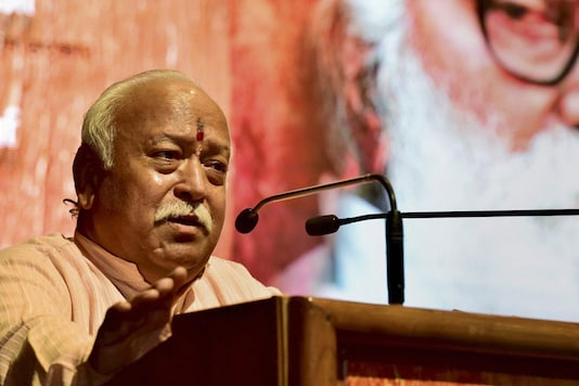 File photo of RSS chief Mohan Bhagwat (PTI Photo)