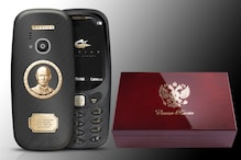 Nokia 3310 'Vladimir Putin' Version in Gold And Titanium Costs Rs 1,13,000 Only