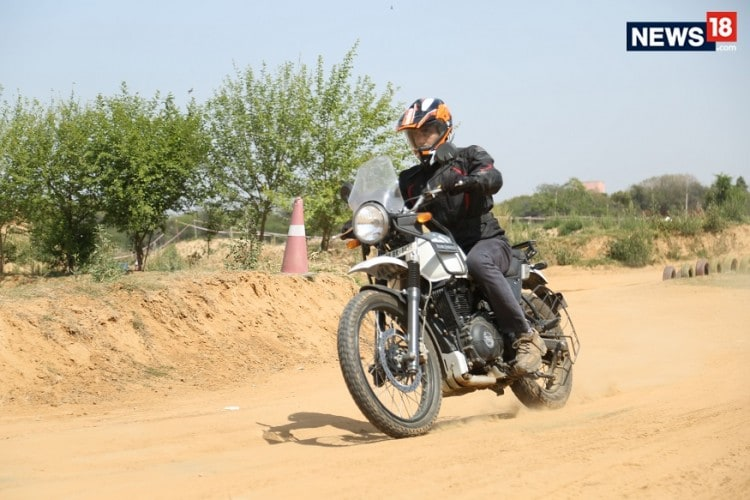 Royal Enfield, Himalayan, Off-Roading, Off-road Track