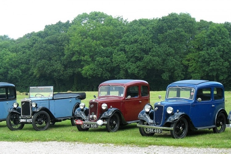 Car History, Ford Model T, Austin 7, Volkswagen Beetle, Citroen 2CV, Fiat 500, Mini, Ford Mustang