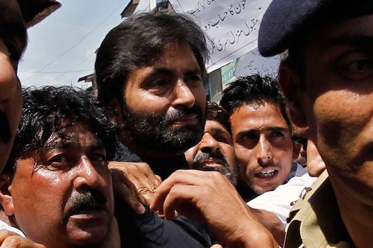File photo of Yasin Malik. (Image: Reuters)