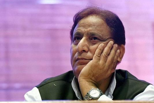 File photo of former UP minister Azam Khan