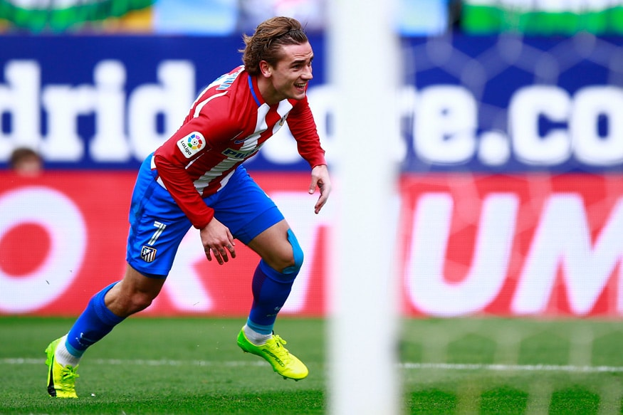 Griezmann Helps Atletico to Pull Level With Barcelona