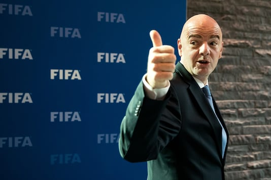 File photo of Gianni Infantino (Photo Credit: Getty Images)