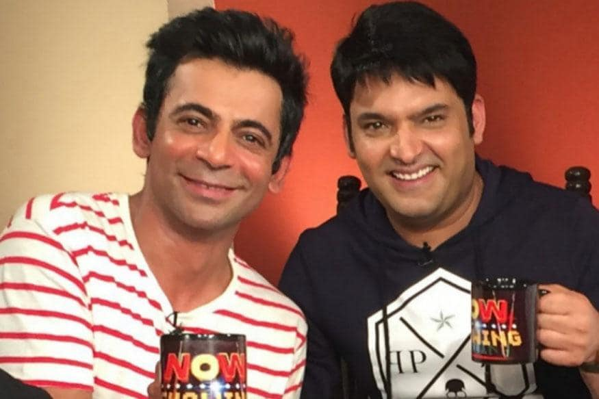 Image result for sunil grover and kapil