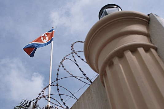 North Korean flag. (Image for Representation / Getty Images)