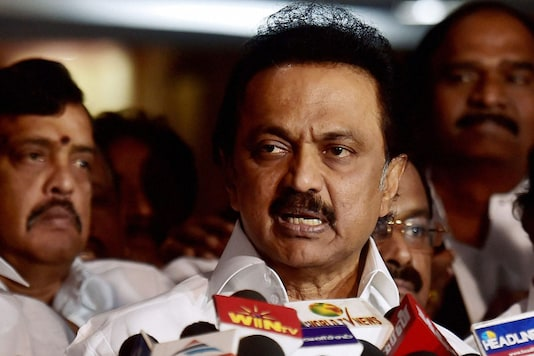 File photo of DMK chief MK Stalin