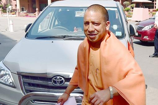 File photo of UP CM Yogi Adityanath