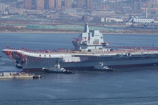 China's first domestically built aircraft carrier. Representative Image. (Image: Reuters)