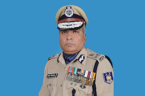 File photo of Former CRPF Director General (DG) Dilip Trivedi (Photo: crpf.nic.in)