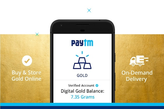 This new service will enable users to request their gold to be delivered at their home in the form of minted coins. (Image: Paytm)