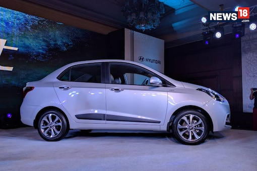 Hyundai Xcent launched in India at Rs 5.38 Lakh. (Image: Manav SInha/ News18.com)