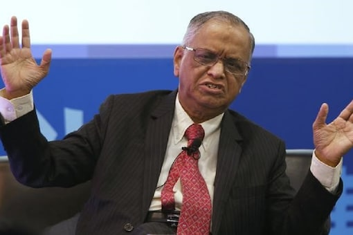 File photo of Infosys co-founder NR Narayana Murthy.
