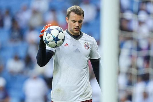 File Image of Bayern Munich goalkeeper Manuel Neuer. (Getty Images)