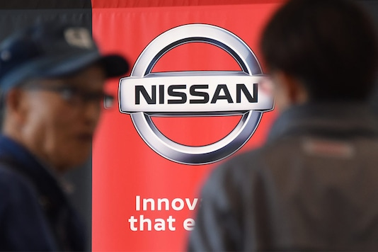 Nissan logo. Image used for representational purpose only. (Photo: AFP Relaxnews)