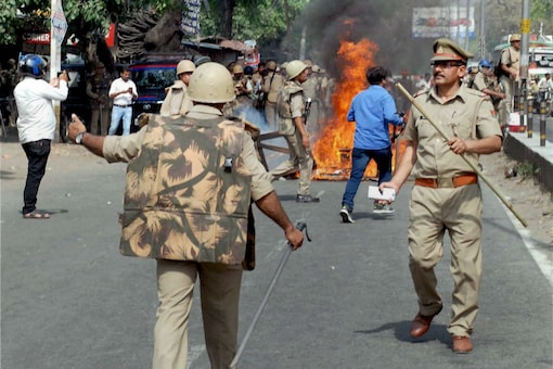 File photo of clashes in Saharanpur. (PTI)