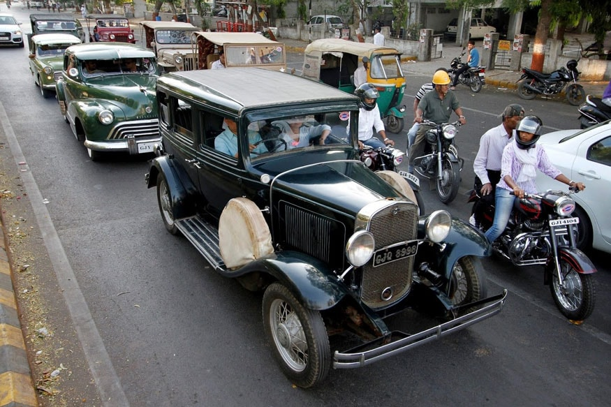 Vintage Car Rally to Cover 1200 Kilometres in India As a Part of the Grand Heritage Drive 2019