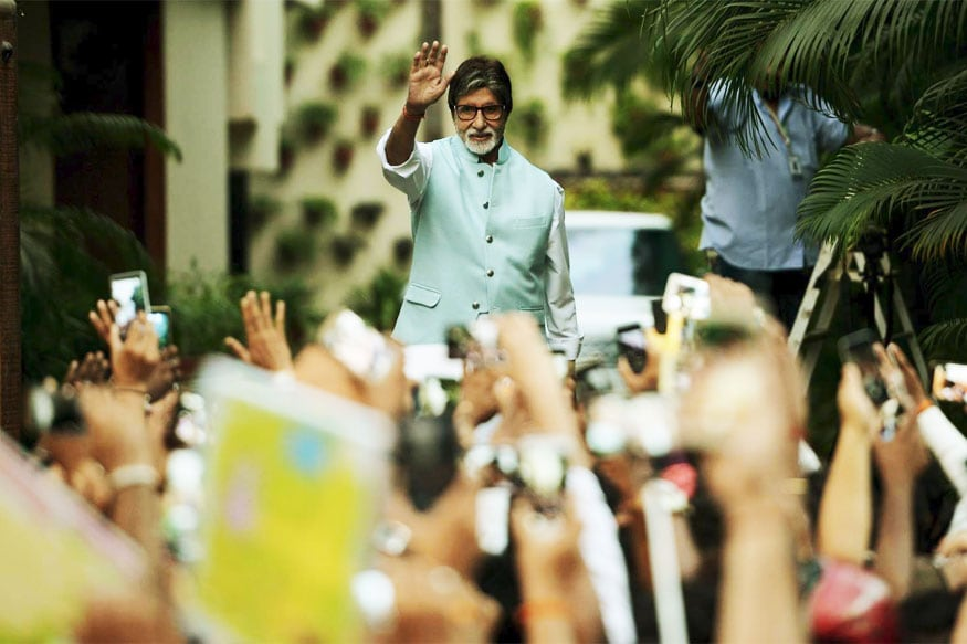 Image result for amitabh with fans
