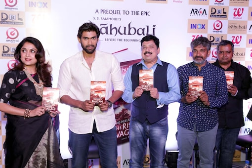 The Rise of Sivagami: First Book in Baahubali Series Unveiled Amidst Fanfare