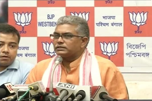 File photo of West Bengal BJP president Dilip Ghosh.
