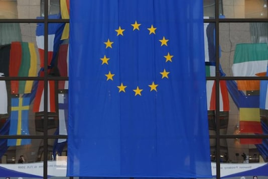 File photo of an European Union flag. (Representative image from Reuters)