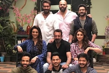 Sanjay Dutt Visits Golmaal Again Set; Spends Time With Arshad, Ajay