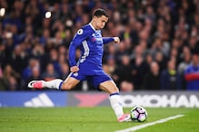 Antonio Conte Backs Hazard to Take Central Role in Chelsea Charge