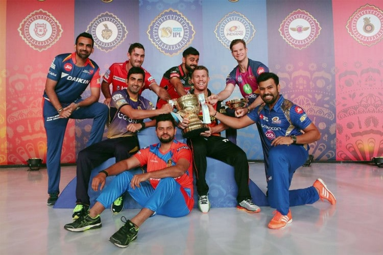 In Pics: Captains Get Into Selfie Mode Ahead of IPL 2017