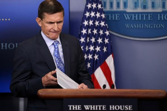 File phoro of Ex-White House Advisor Michael Flynn (Image: Reuters)
