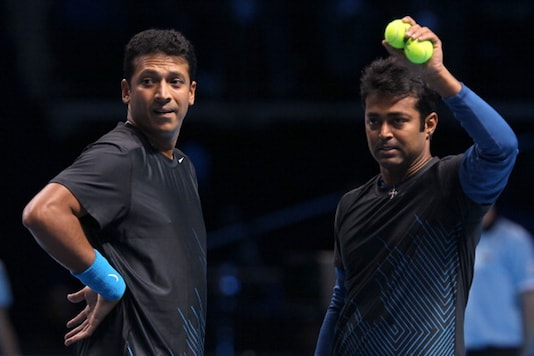 Leander Paes and Mahesh Bhupathi. (Getty Images)