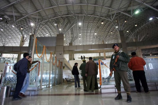 File photo of Srinagar airport (Getty Images)