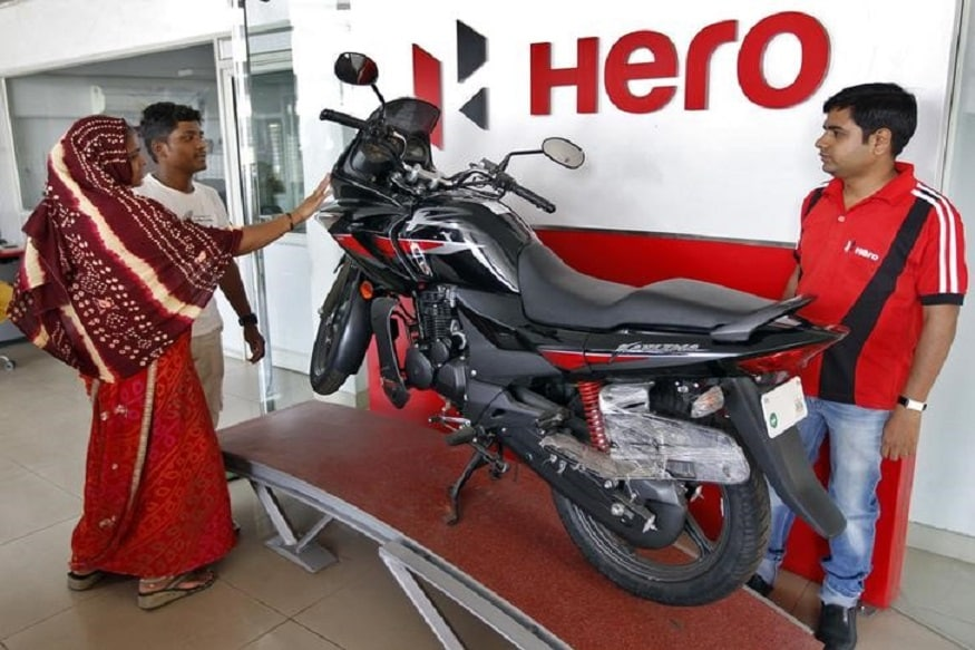 Hero Motocorp Share Price Live: Hero Motocorp Shares Fall by 2.40% as Union Budget 2019 is Announced