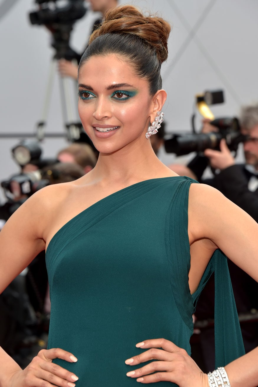 Deepika Padukone attends the 'Loveless (Nelyubov)' screening during the 70th annual Cannes Film Festival at Palais des Festivals on May 18, 2017 in Cannes, France. (Image: Getty Images)