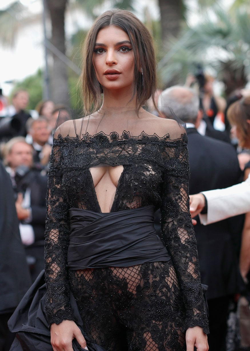 Emily Ratajkowski attends the 'Loveless (Nelyubov)' screening during the 70th annual Cannes Film Festival at Palais des Festivals on May 18, 2017 in Cannes, France. (Image: Getty Images)