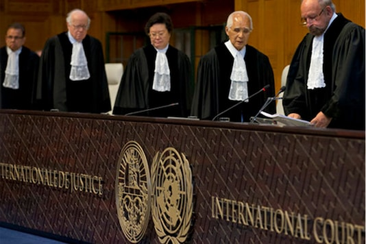ICJ, seated in The Hague, is the judicial wing of the United Nations. It acts as an international umpire in disputes between states. (AP)