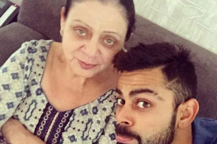 Kohli Calls His Mother Supermom as Cricketers Celebrate Mother's Day