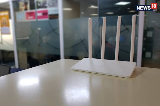 Xiaomi India has launched the Mi Router 3C today priced at Rs 1,199. (Image: Sarthak Dogra/ News18.com)