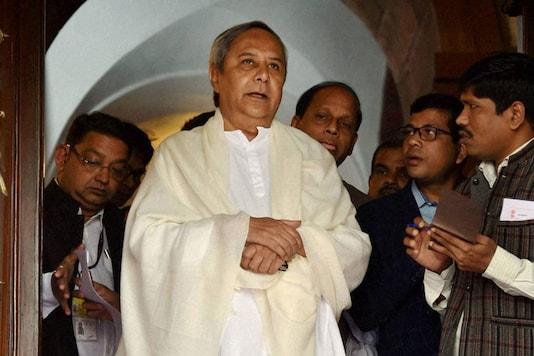File photo of BJD chief and Odisha Chief Minister Naveen Patnaik. (PTI Photo)