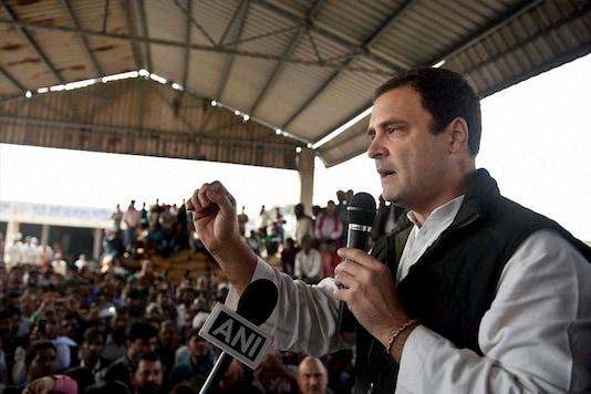 File photo of Congress Vice President Rahul Gandhi.