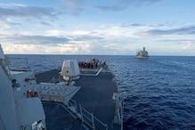 China Says US Warship Violated Sovereignty by Sailing Near South China Sea