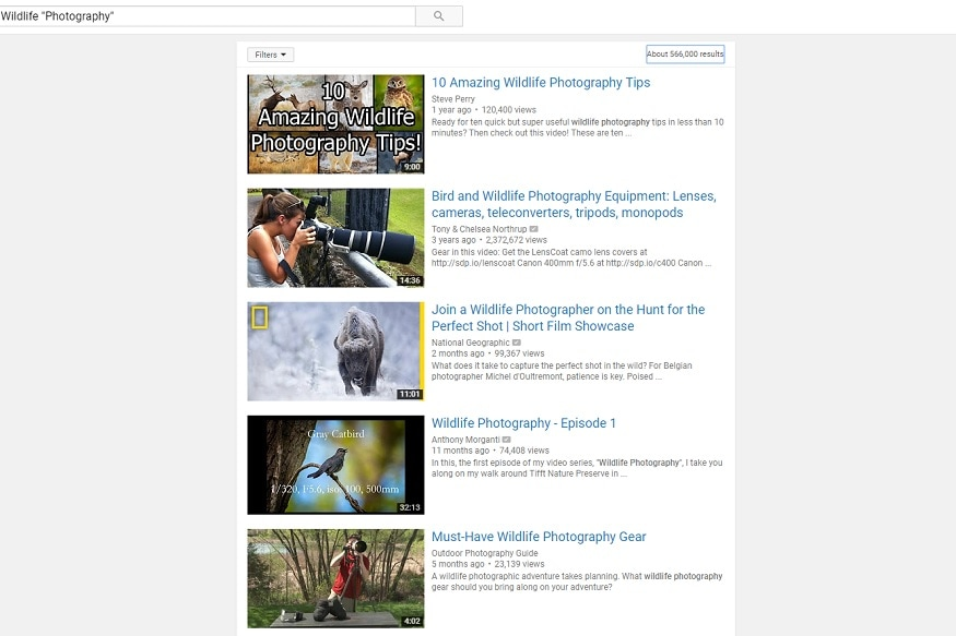 YouTube, YouTube Search, Tips and Tricks, How To, Relevant Search Results, Relevant Videos